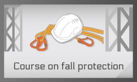 Course on fall protection